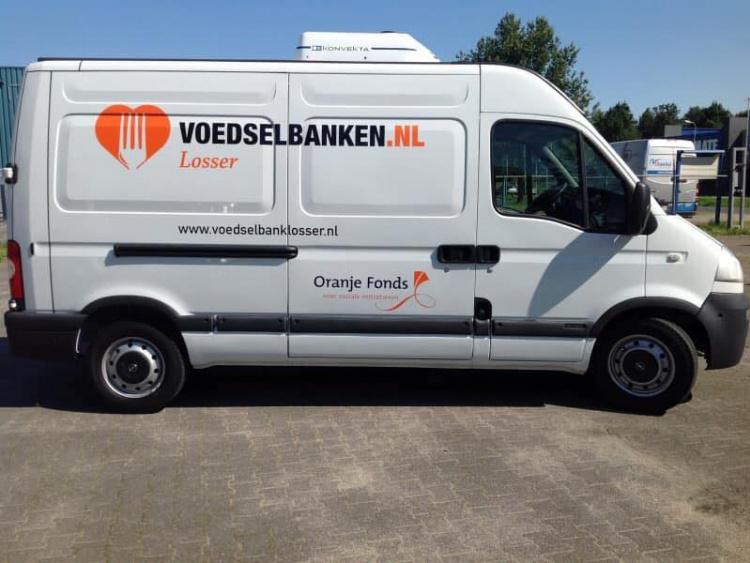 Voedselbank koelwagen